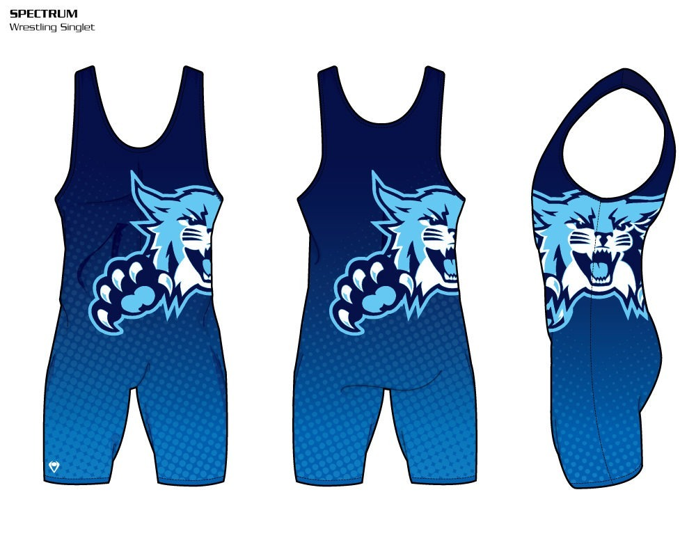 Spectrum Sublimated Wrestling Singlet