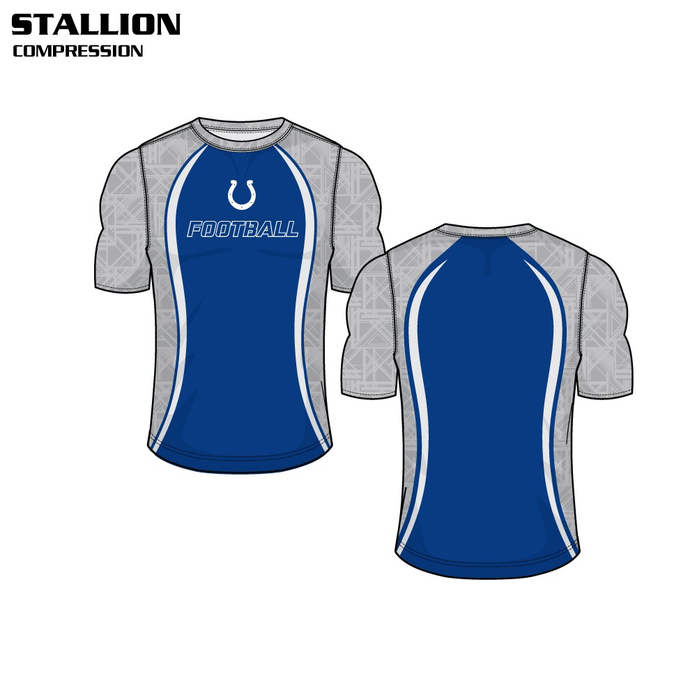Stallion Sublimated Compression Top