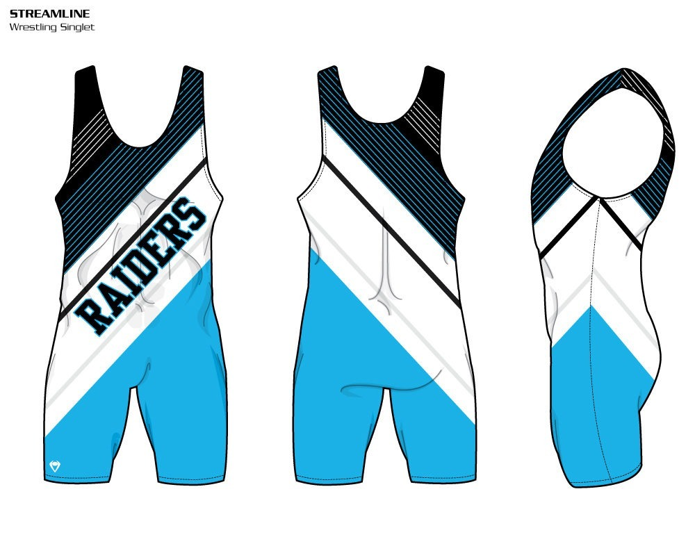 Streamline Sublimated Wrestling Singlet