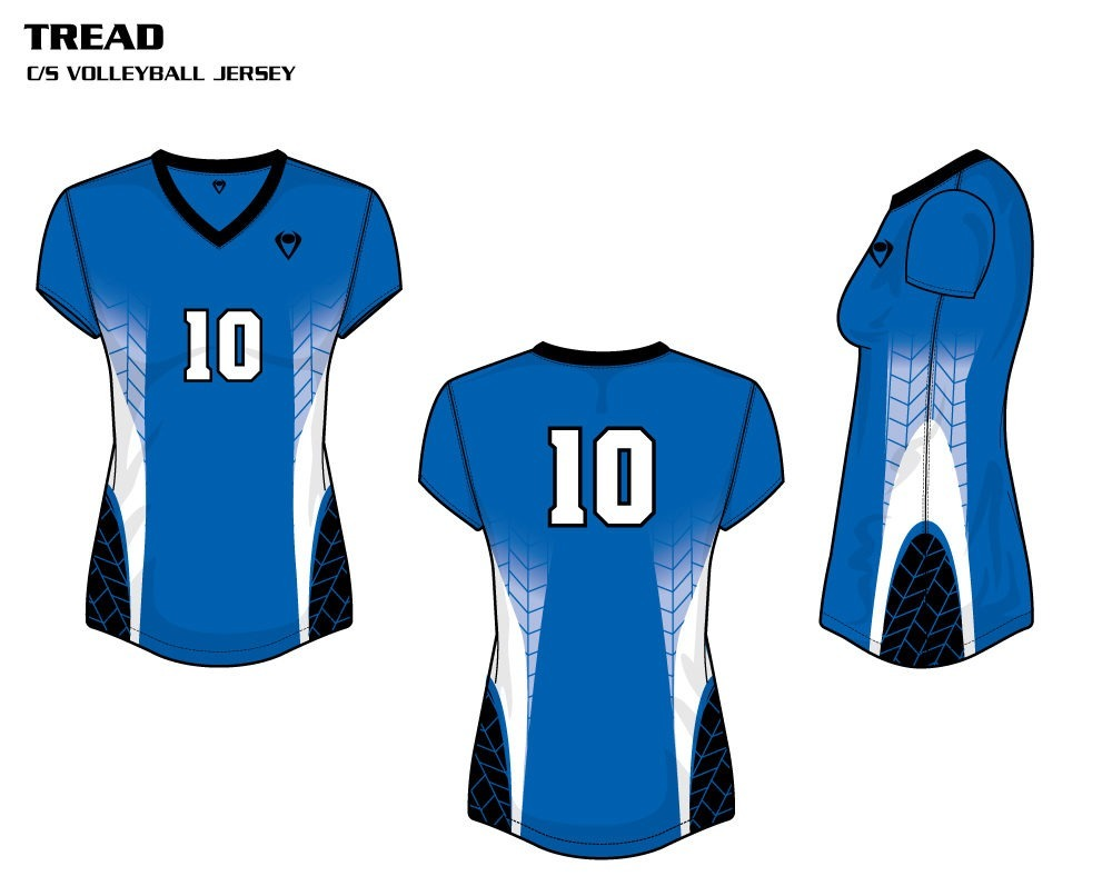 Tread Women's Sublimated Volleyball Jersey