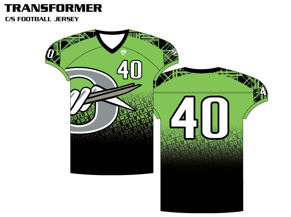 Transformer Sublimated Football Jersey