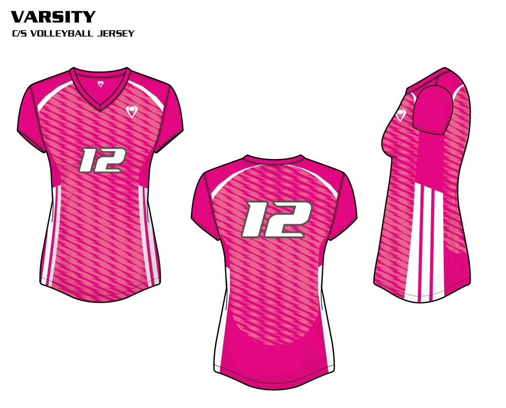 Varsity Women's Sublimated Volleyball Jersey