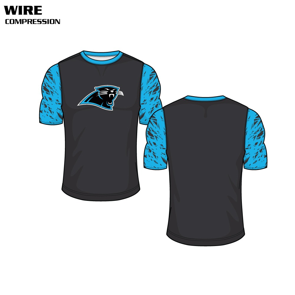 Wire Sublimated Compression Top