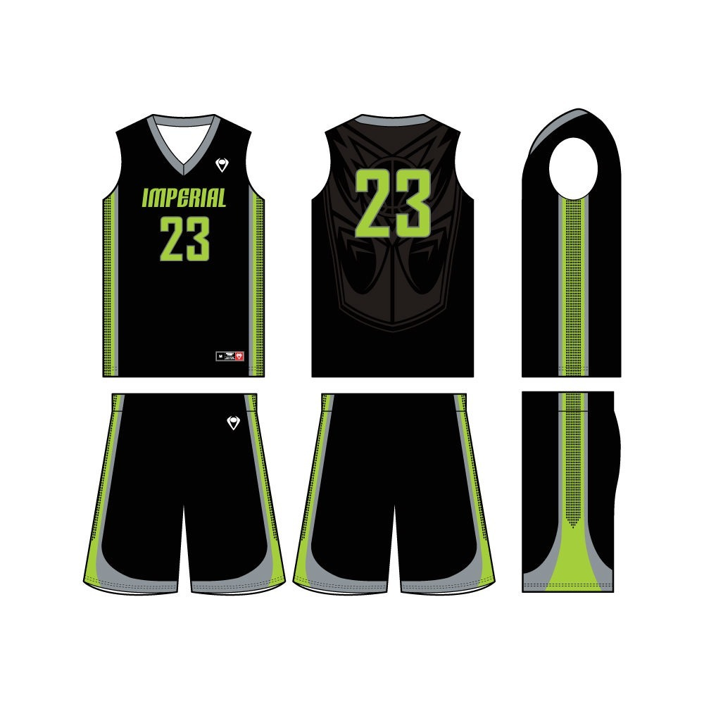 Mens Custom Basketball Jersey - Attack