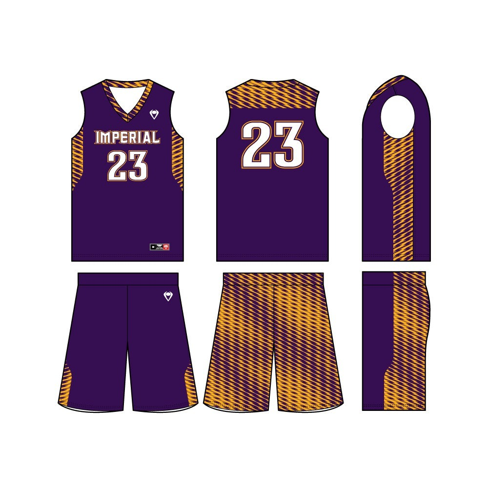 Mens Custom Basketball Jersey - Back Court