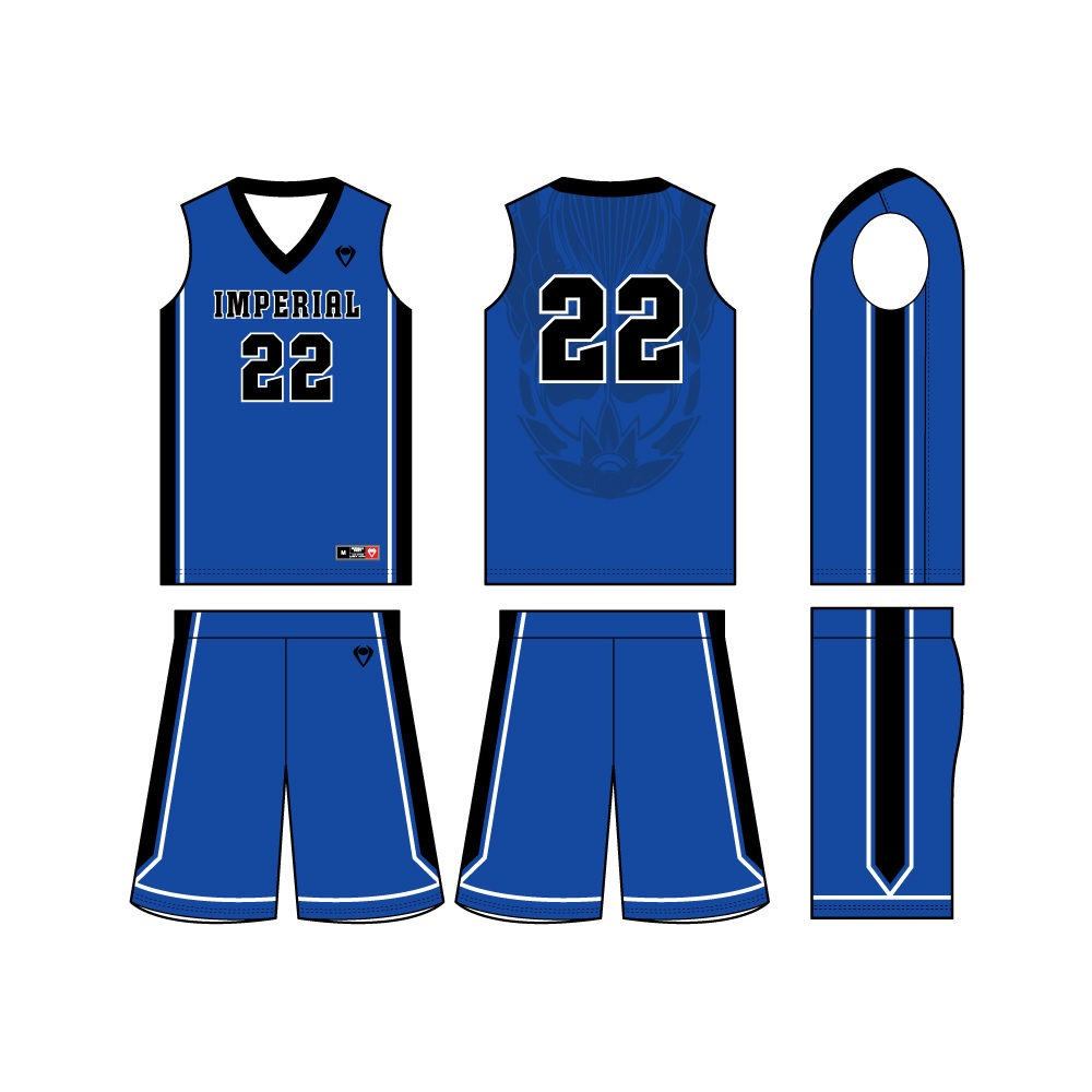 Mens Custom Basketball Jersey - Dynasty