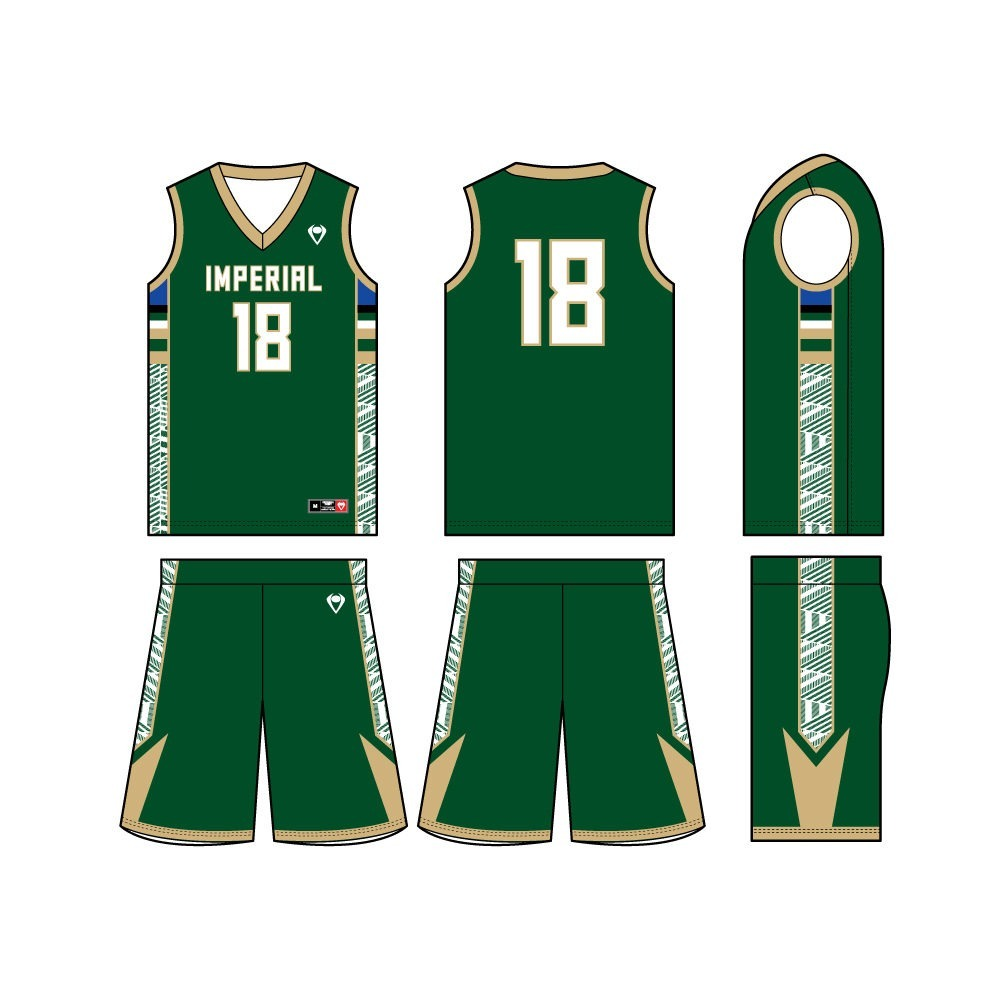 Mens Custom Basketball Jersey - New Edge