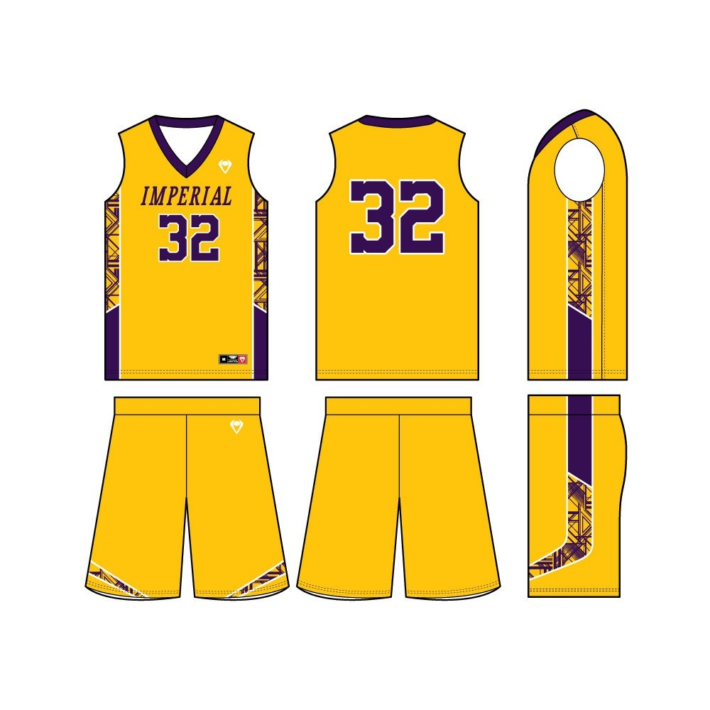 Mens Custom Basketball Jersey - Showtime