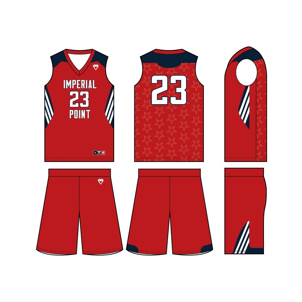 Mens Custom Basketball Jersey - Stars and Stripes