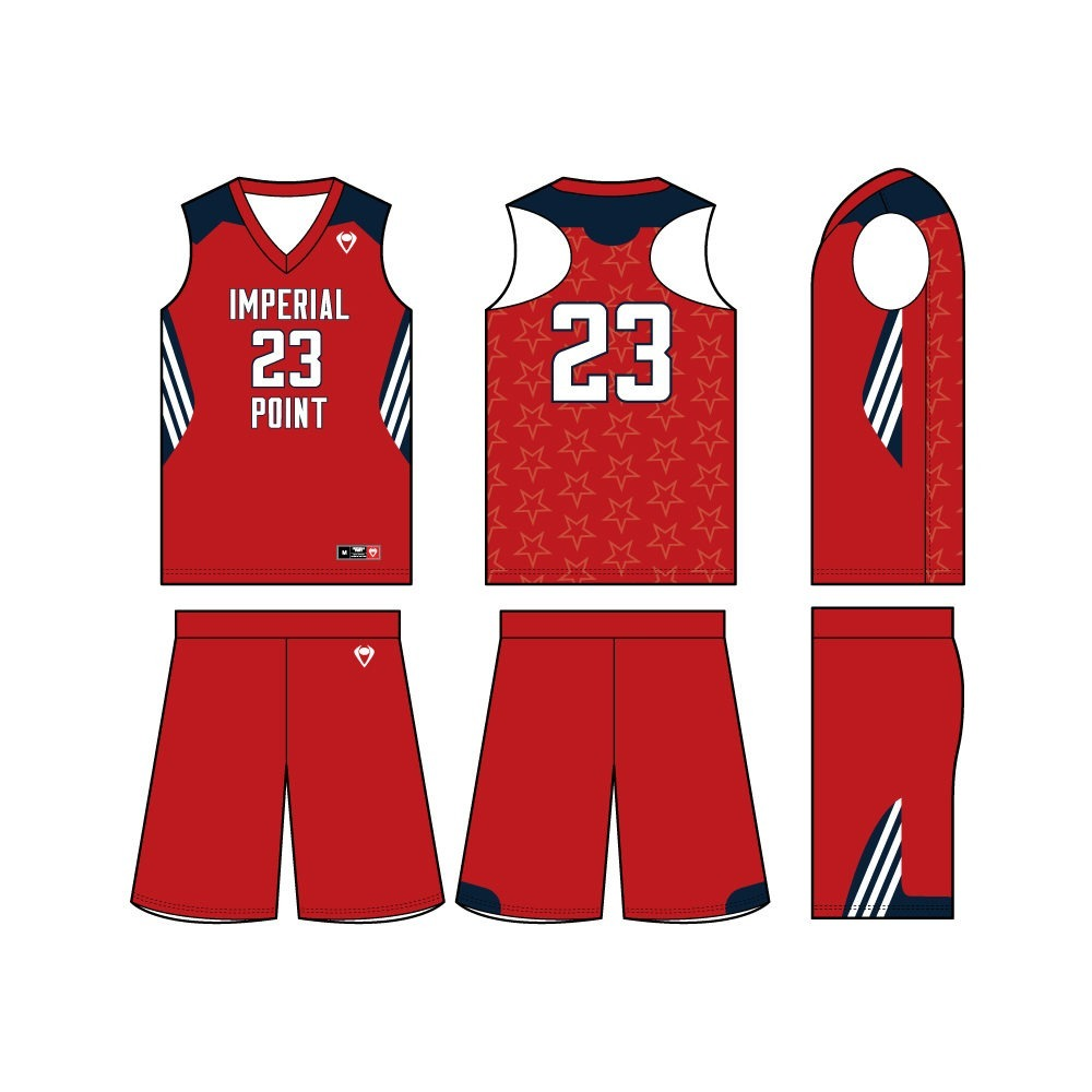 Womens Custom Basketball Jersey - Stars and Stripes