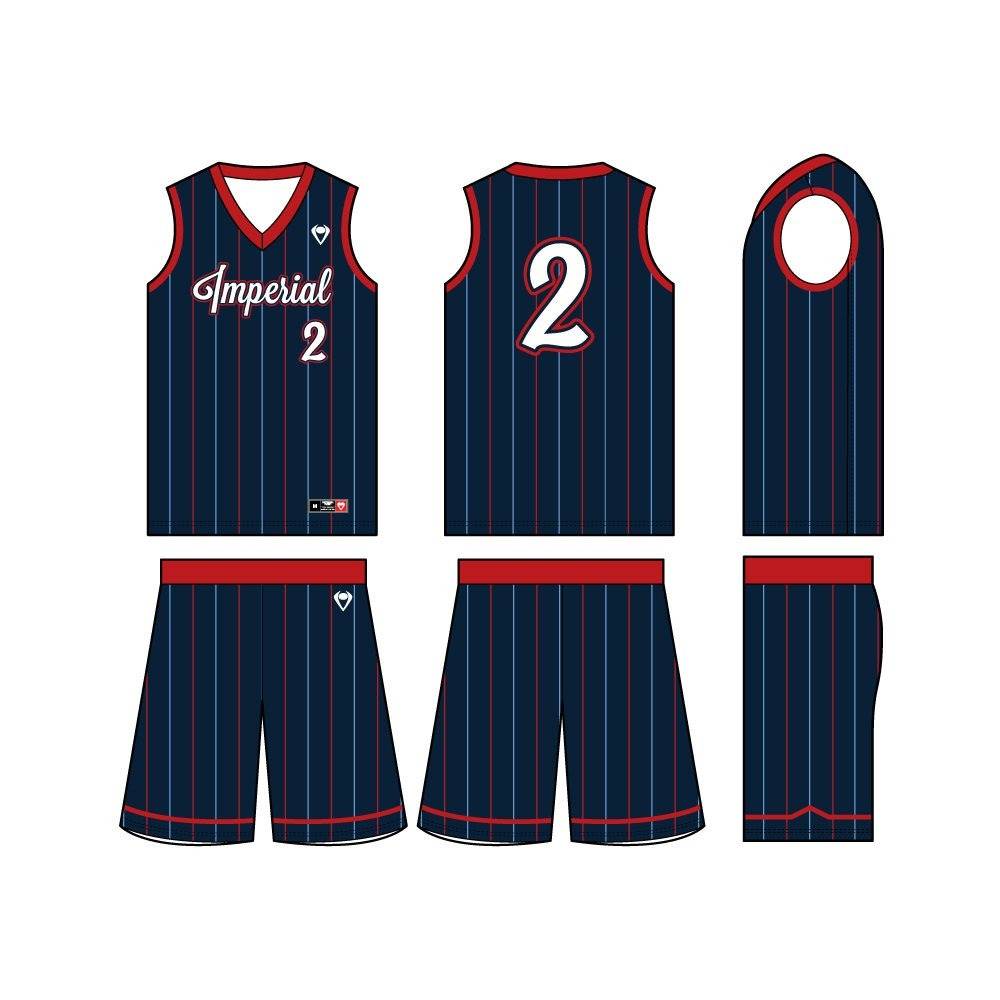 Mens Custom Basketball Jersey - Trick Shot