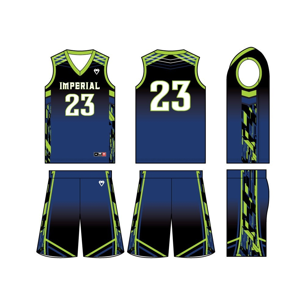 Mens Custom Basketball Jersey - Triple Threat