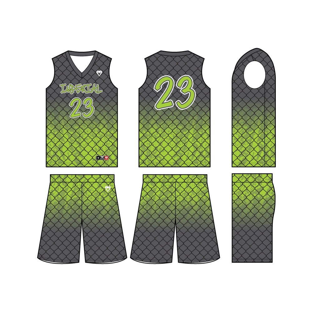 Mens Custom Basketball Jersey - Wired