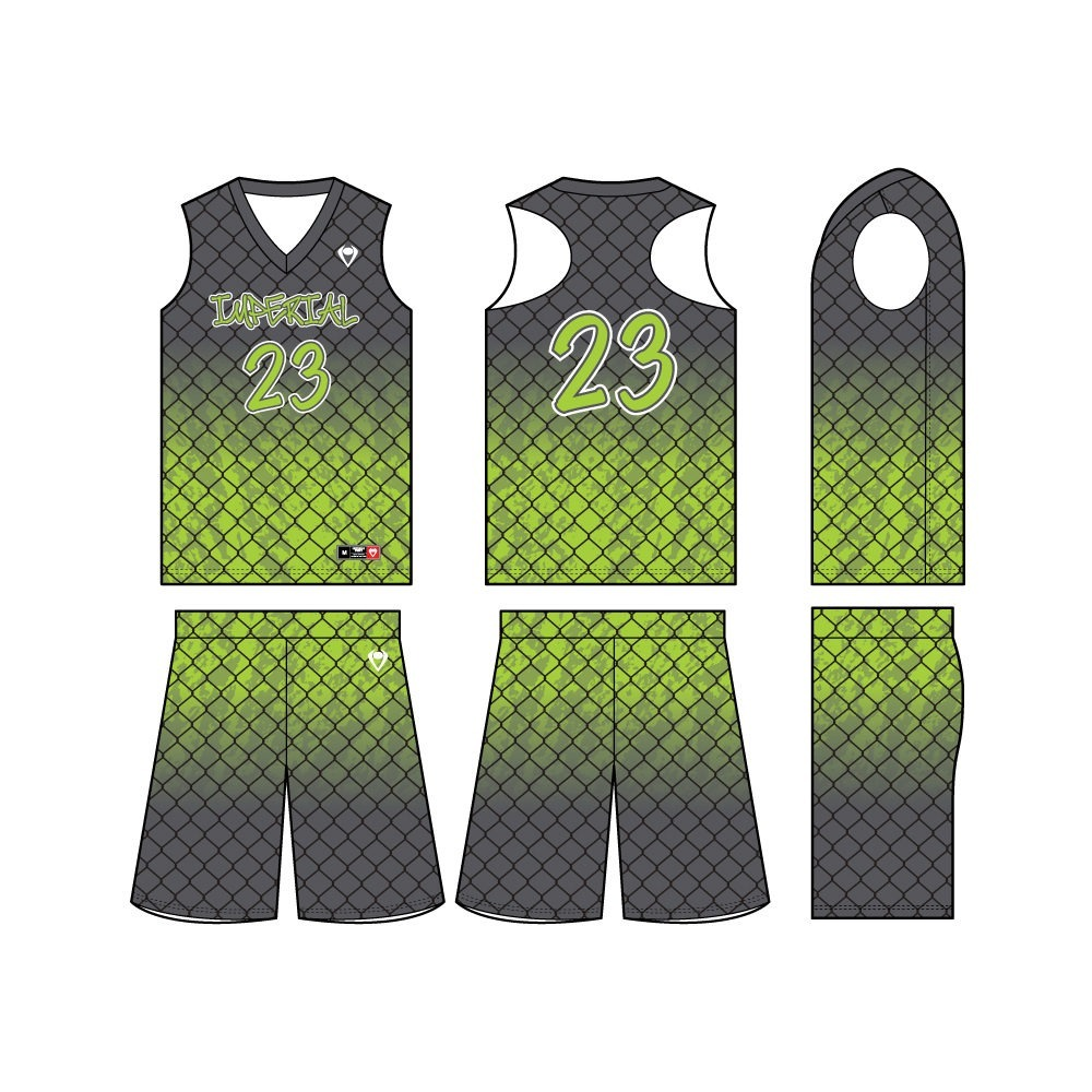 Womens Custom Basketball Jersey - Wired