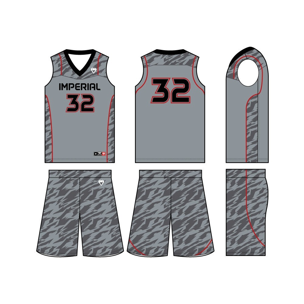 Mens Custom Basketball Jersey - Zone