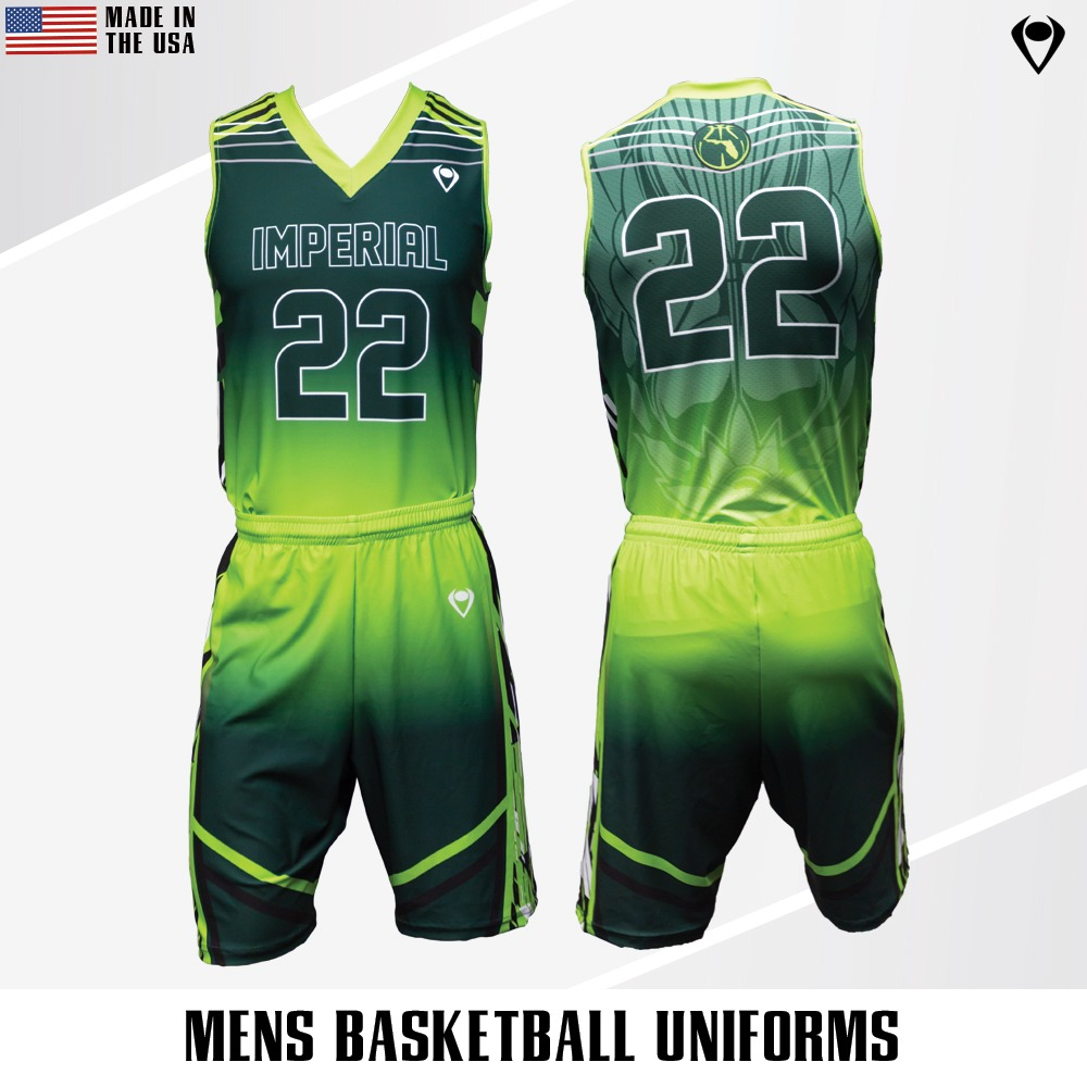 e83ebcbde1e The moment you step onto the court with these sublimated basketball jerseys  is the moment the crowd and your opponents know you're there to win.