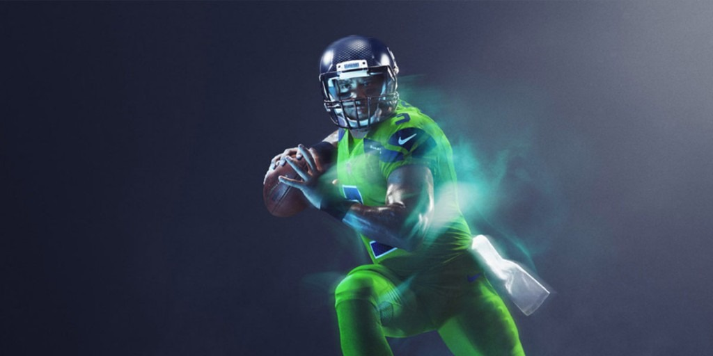 detailed look 24b99 68dd9 Uniform Spotlight: Seattle Seahawks Color Rush Uniforms