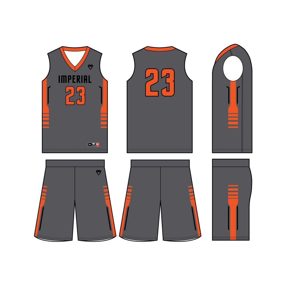 Custom Men's Basketball Uniforms and Jerseys | Imperial Point